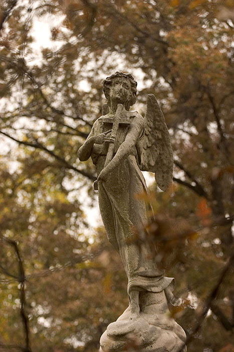 Angel in Mourning, Bellefontaine Cemetery, Saint Louis, MO //