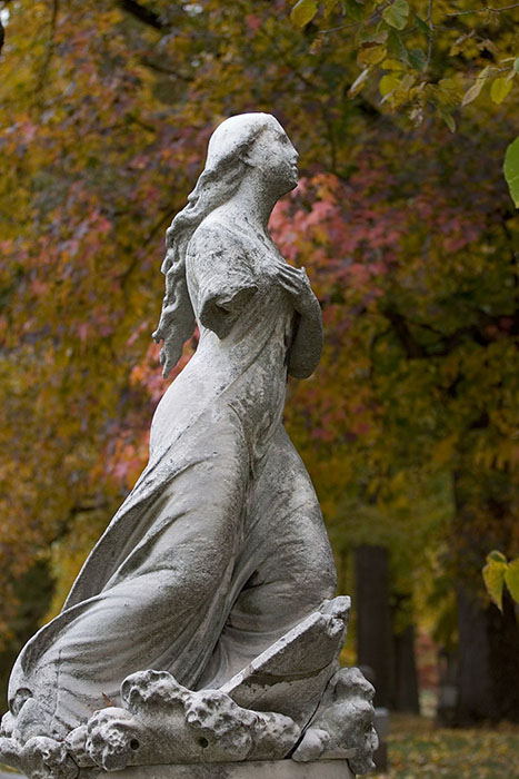 Angeline, Bellefontaine Cemetery, Saint Louis, MO //