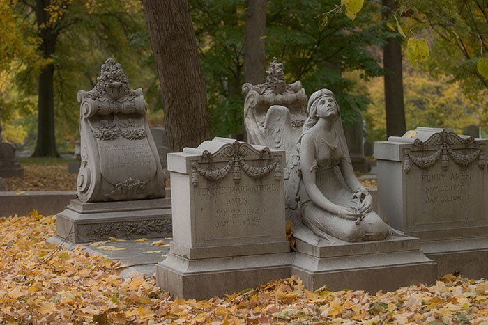 Soft Remembrance, Bellefontaine Cemetery, Saint Louis, MO //