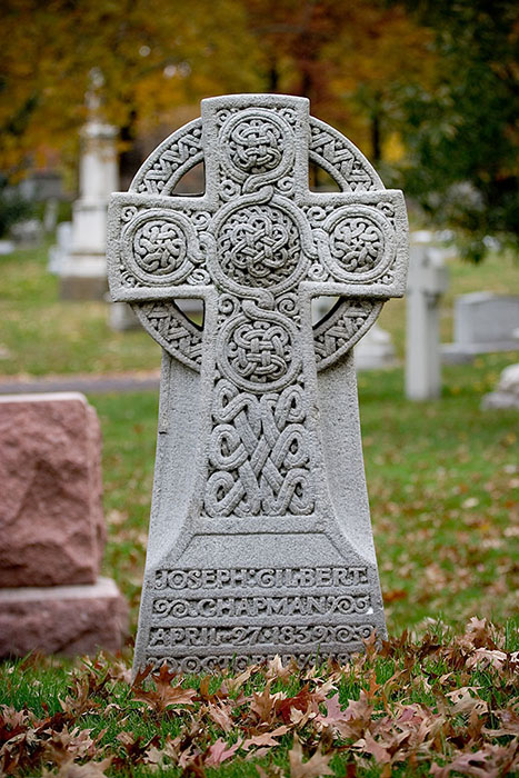 Celtic Cross, Bellefontaine Cemetery, Saint Louis, MO //