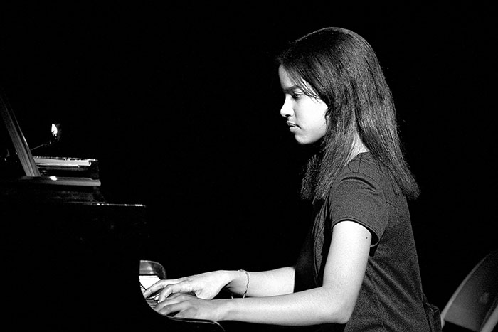 Girl at Piano, Saint Louis, MO //