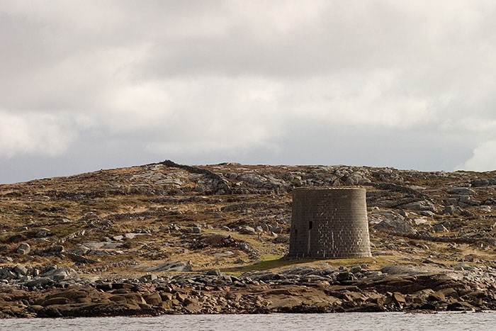 Watch Tower, Rossaveal, Ireland //