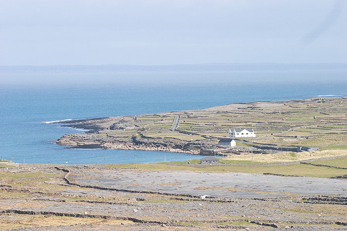 Inishmoor Coast, Aran Islands, Ireland //