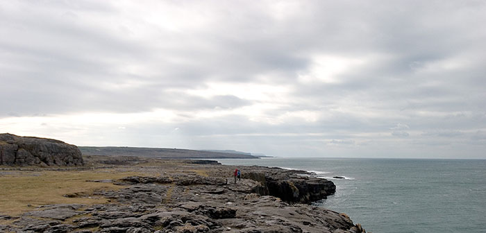 Irish Coast, Galway Bay, Ireland //
