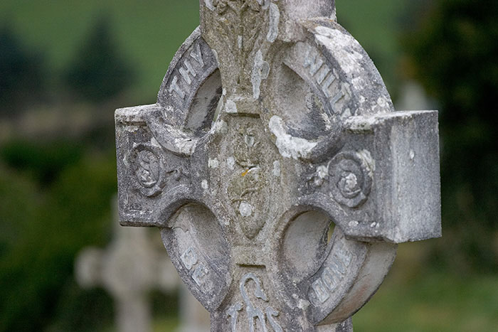Reflection (Celtic Cross), Rosscarbery, County Cork, Ireland //