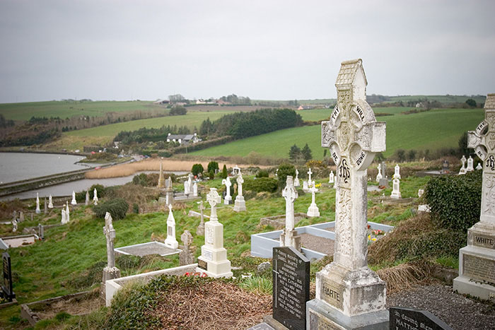 Celtic Cemetery, Rosscarbery, County Cork, Ireland //