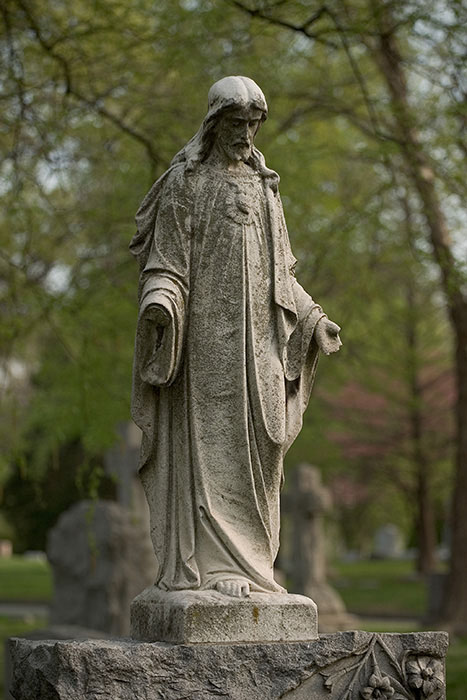 Surrendering to Grief and Hope, Calvary Cemetery, Saint Louis, MO //