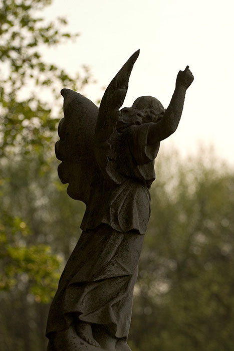 Angel Keeping Watch, Calvary Cemetery, Saint Louis, MO //