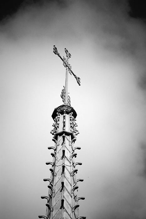 Apocalyptic Cross, Saint Louis University Hospital, Saint Louis, MO //