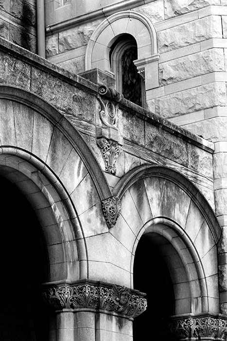 Lafayette Park United Methodist Church Facade, Saint Louis, MO //