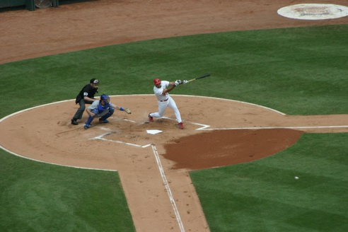 Swing Batter!, Busch Stadium, Saint Louis, Missouri