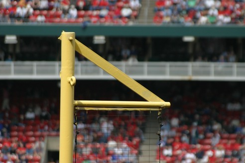 Foul Line, Busch Stadium, Saint Louis, Missouri
