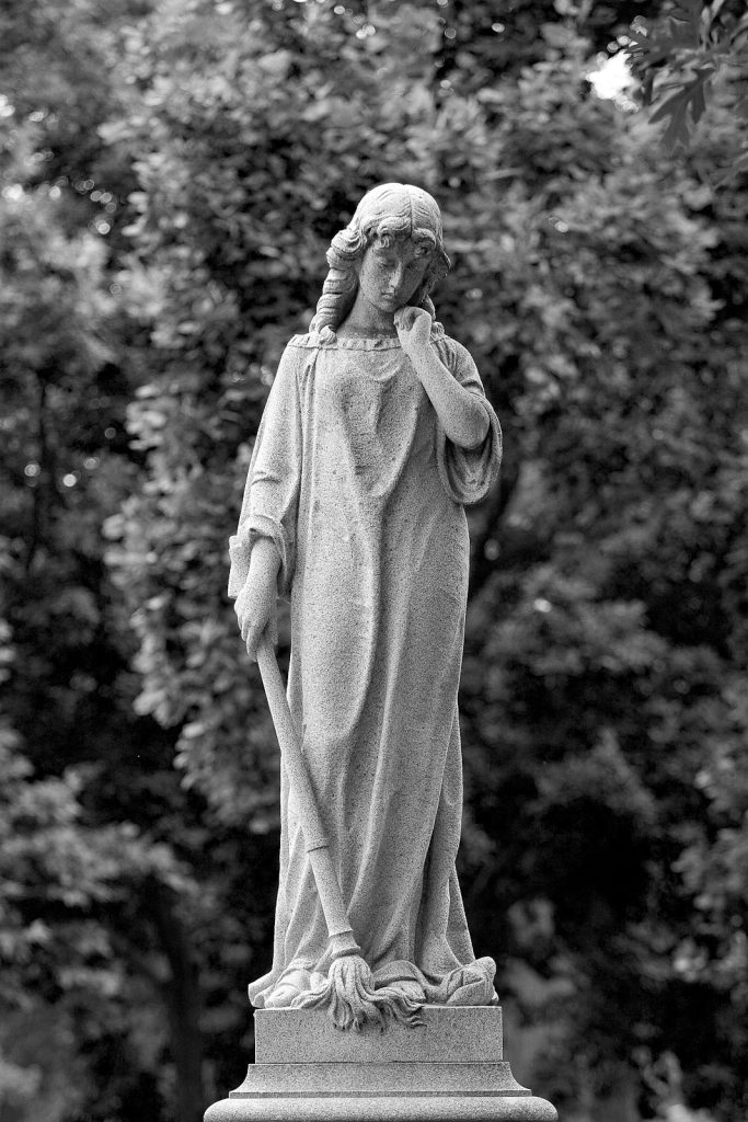 Angel in Repose, Calvary Cemetery, Saint Louis, MO