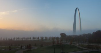 Sunrise, Saint Louis Arch