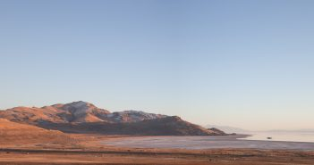 Mountain, Antelope Island, Salt Lake City, Utah